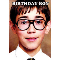 Birthday Boy Funny Birthday Card