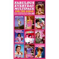 Fabulous Everyday Funny Card Pack of 10 Multipack For Girls