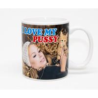 I Love My Pussy Funny Mug