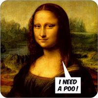 I Need A Poo Funny Coaster