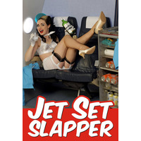 Jet Set Slapper Funny Fridge Magnet