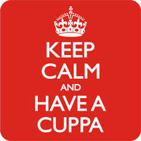 Keep Calm And Have A Cuppa Funny Coaster