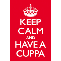 Keep Calm And Have A Cuppa Funny Fridge Magnet