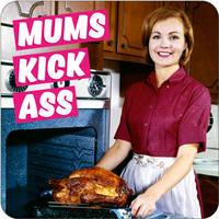 Mums Kick Ass Funny Coaster