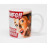 OMFG!! I Need Coffee Funny Mug