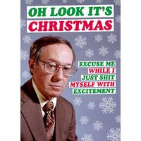 Oh Look It's Christmas Rude Christmas Card