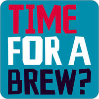 Time For A Brew Funny Coaster