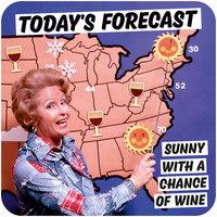 Today's Forecast Funny Coaster