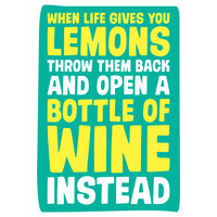 When Life Hands You Lemons Funny Birthday Card