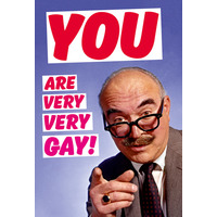 You are Very Very Gay Funny Fridge Magnet