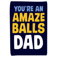 You're An Amazeballs Dad Funny Father's Day Card