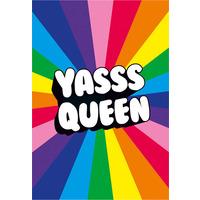 Yasss Queen Fridge Magnet
