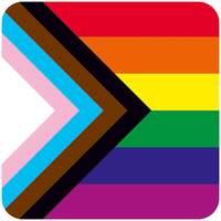 Progress Pride Flag Coaster